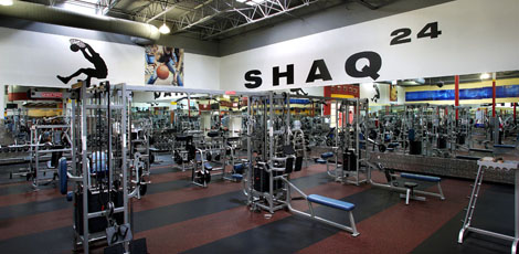 Image result for shaq 24hr fitness