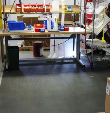 Anti-Fatigue Rubber Flooring