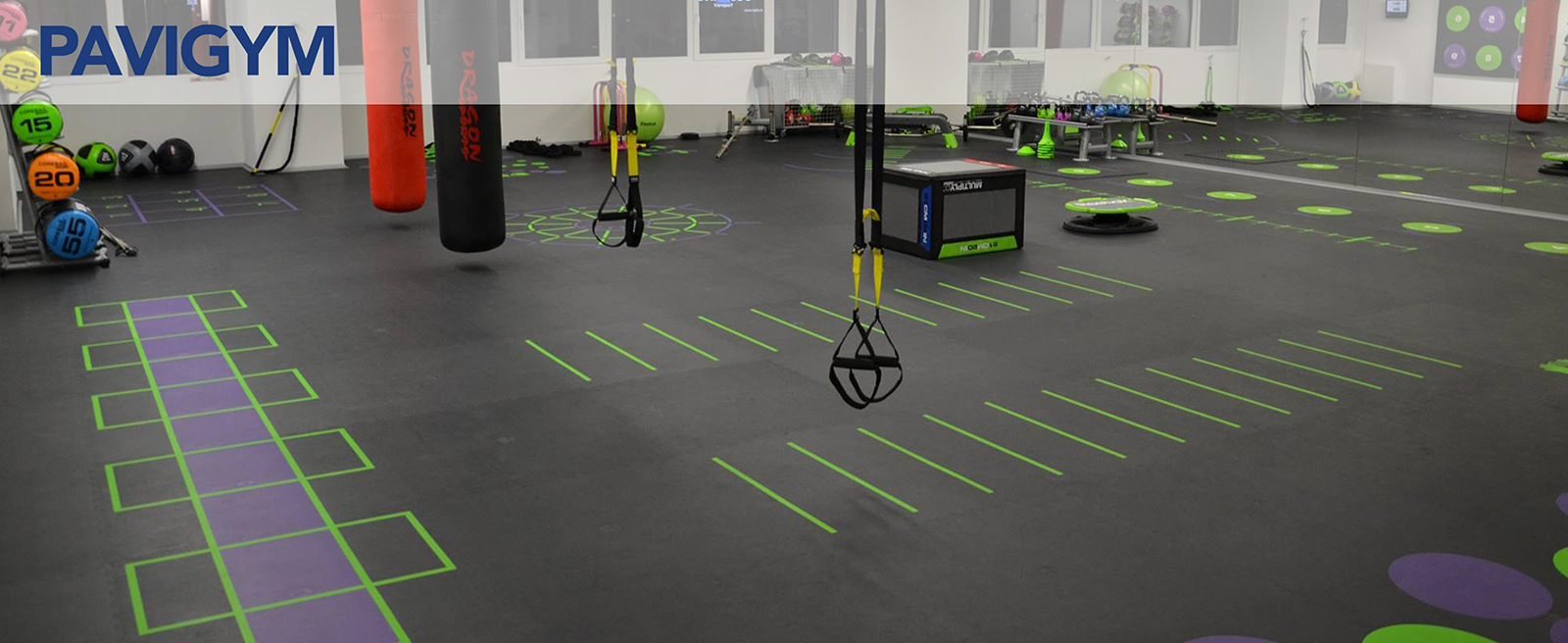 Pavigym: Premier Fitness Flooring Solution